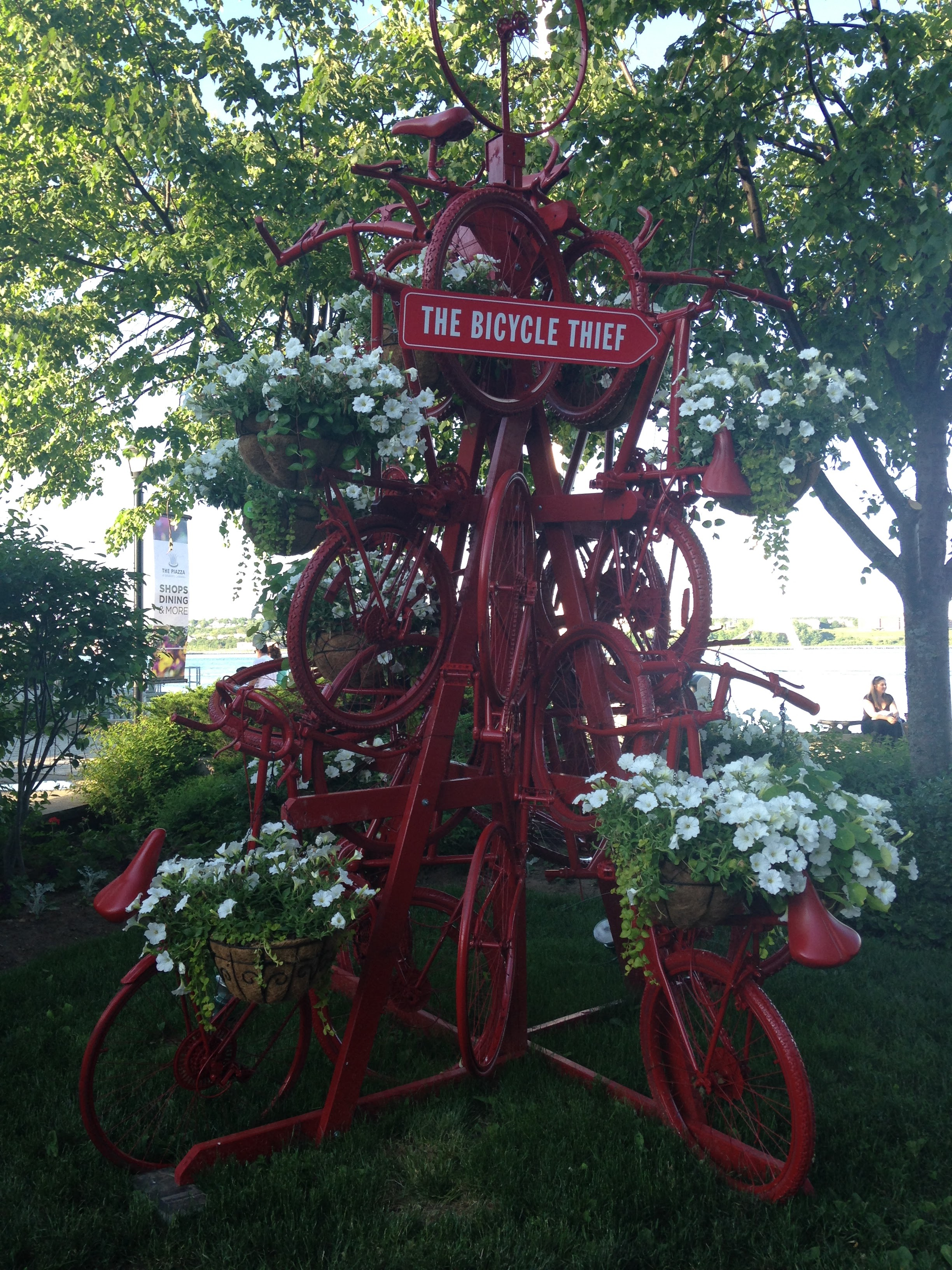 bicycle thief sculpture halifax
