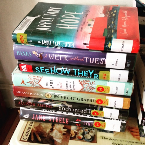 book stack july 2016