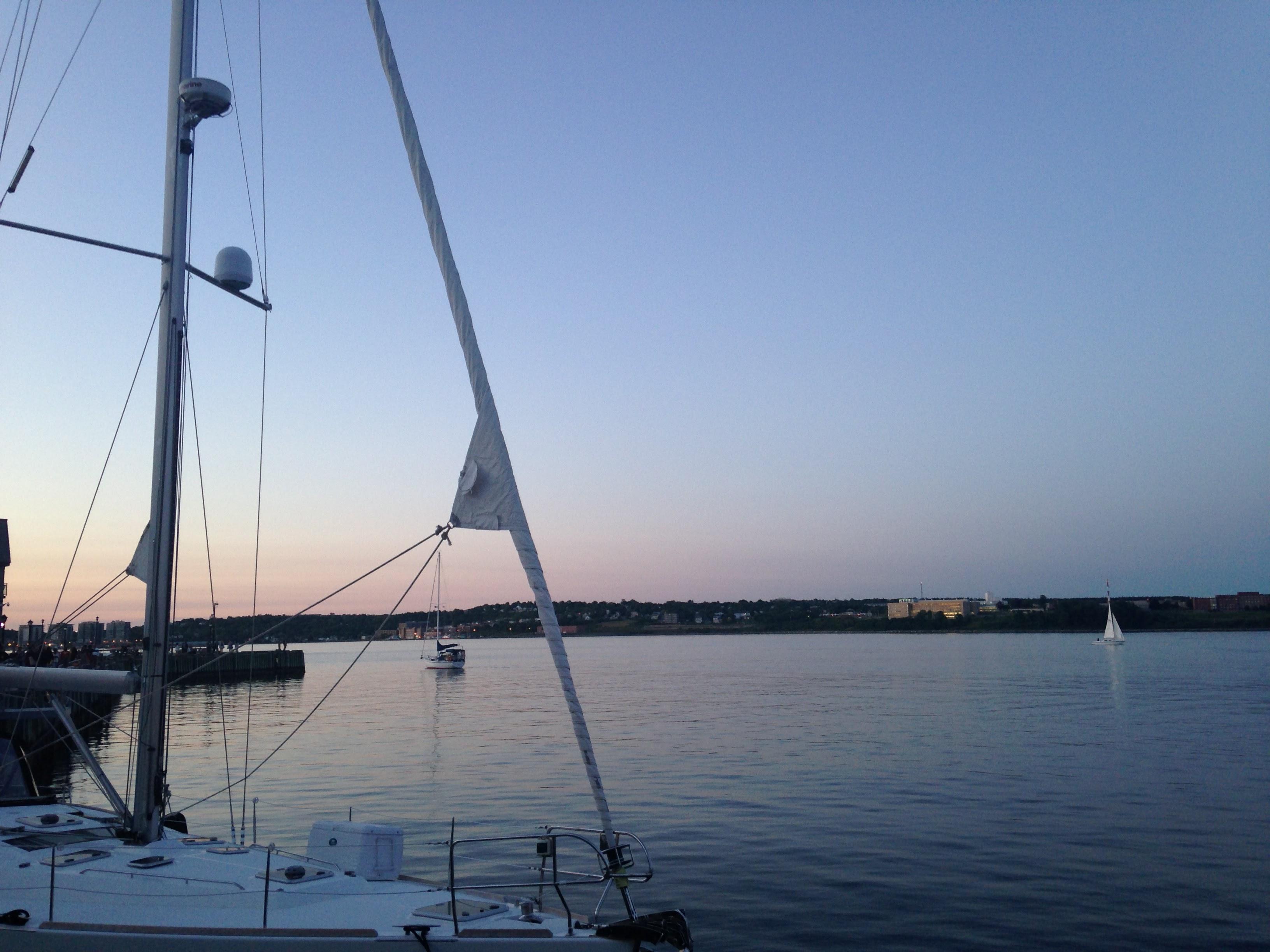 halifax harbour dusk