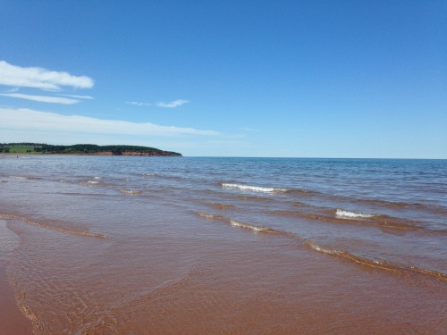 pei north shore beach prince edward island canada