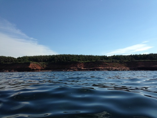 pei sandstone cliffs