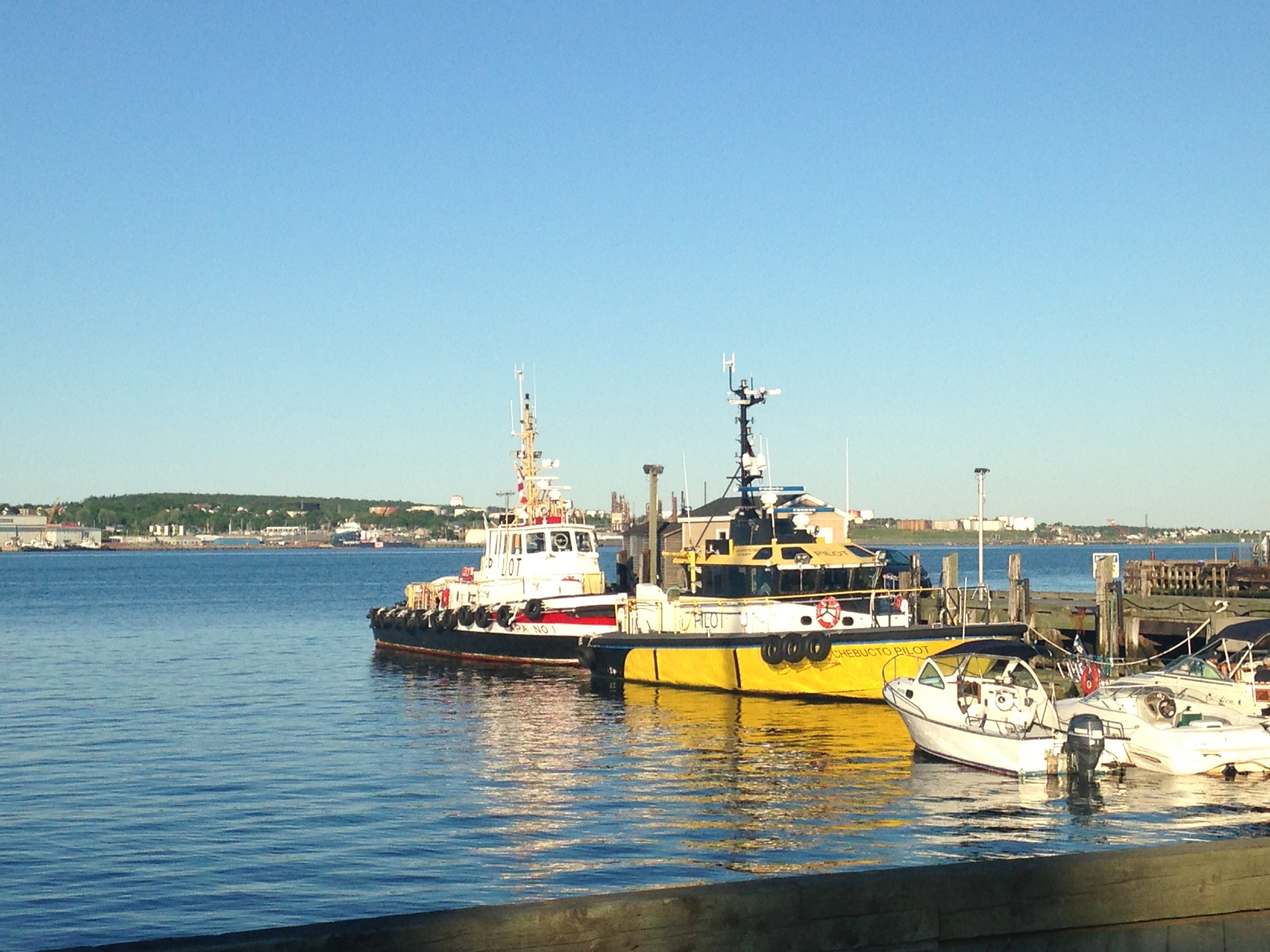 ships halifax harbour