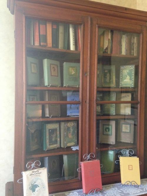 silver bush bookcase anne of green gables museum pei