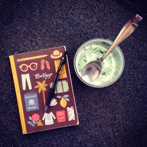 journal gelato sweetness