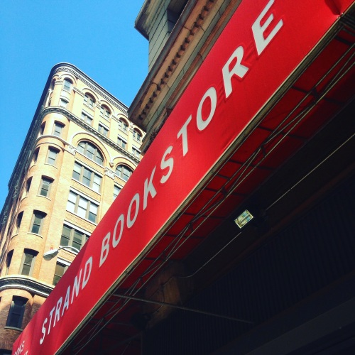 strand bookstore awning nyc