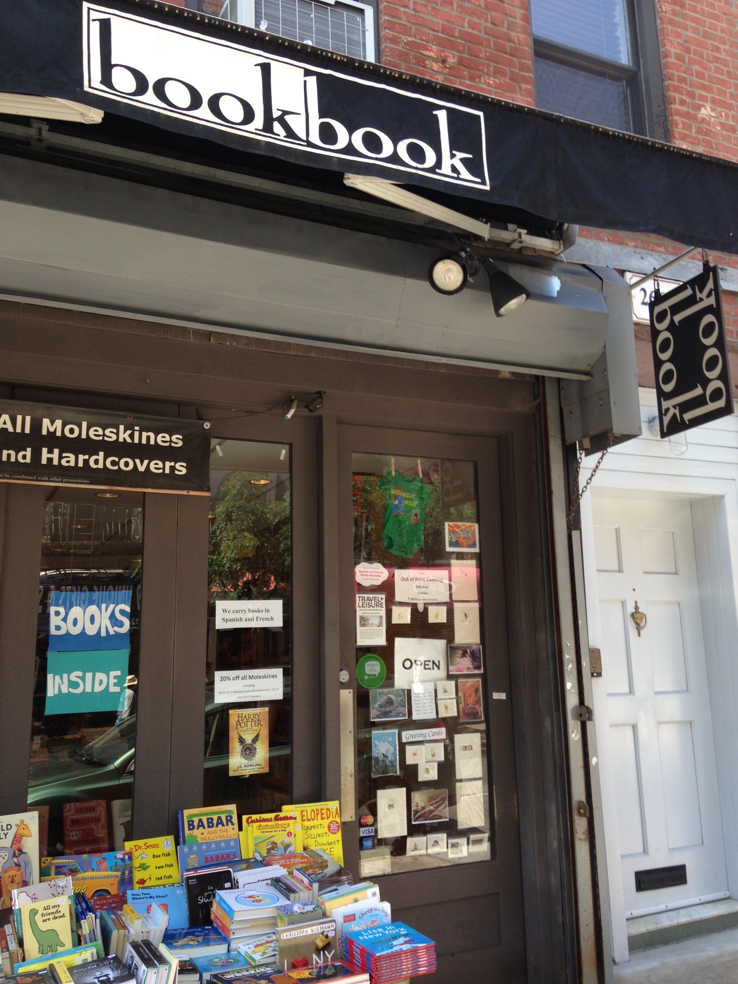 bookbook bookstore bleecker street west village nyc