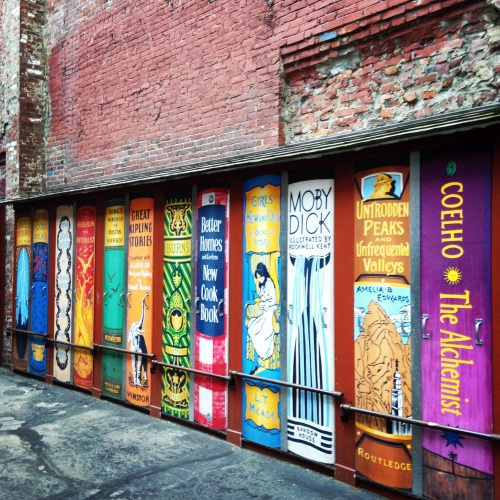 brattle bookshop doors boston