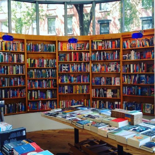idlewild books nyc interior