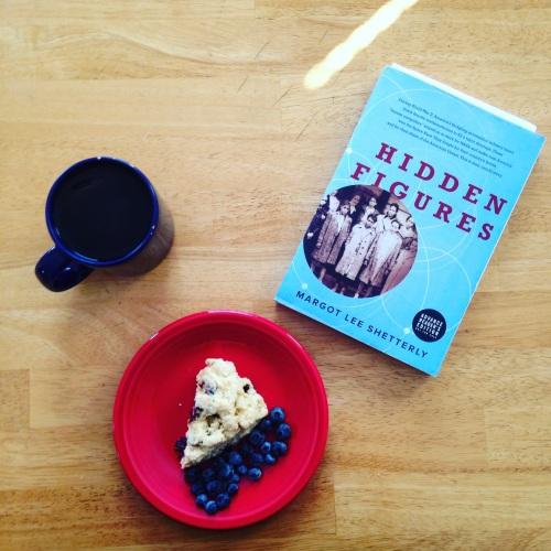 hidden figures book tea scone