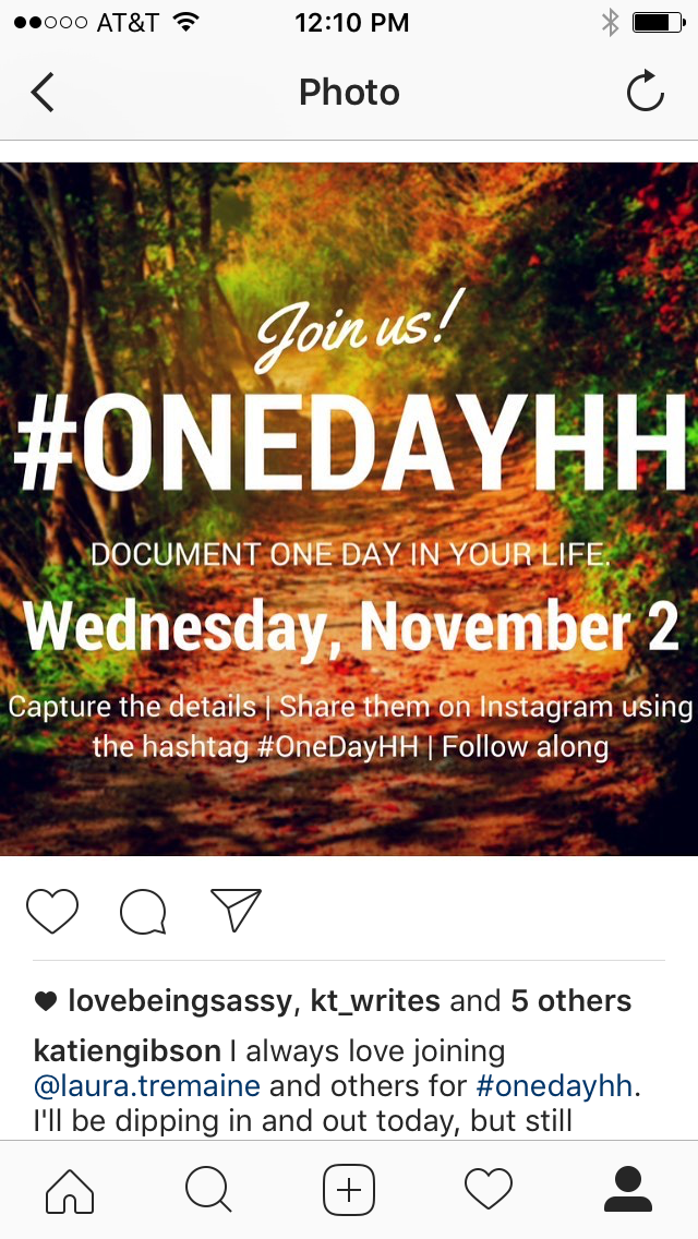 one day hh instagram