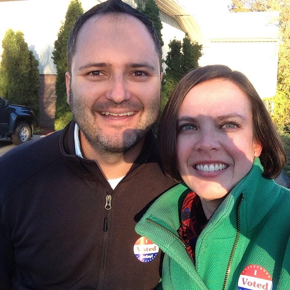 voter selfie k j
