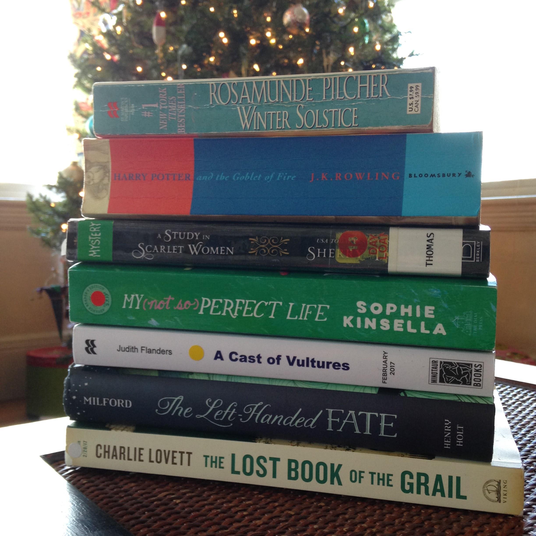 december books 2016 christmas tree