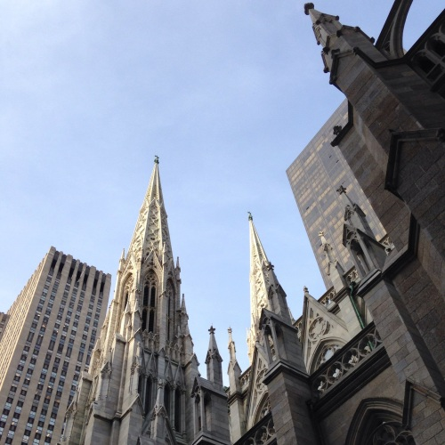 st patricks cathedral spires nyc