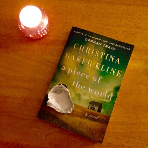 piece of the world book candle