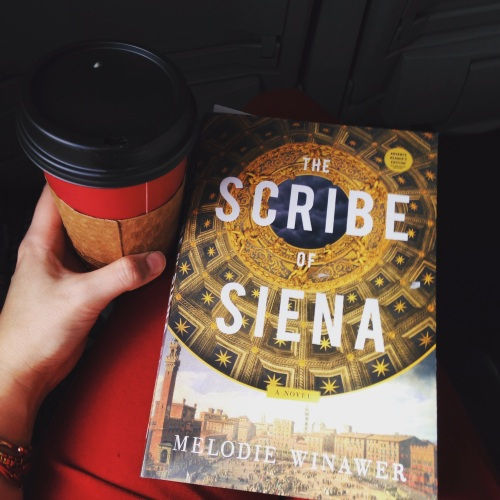 scribe of siena book chai red
