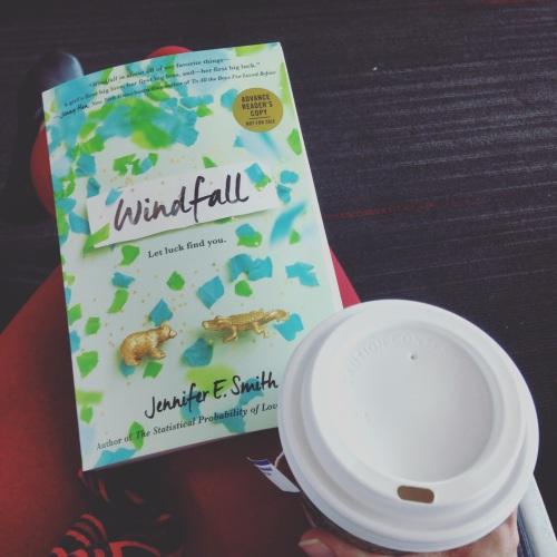 windfall book tea airport