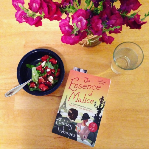 snapdragons salad book essence of malice table