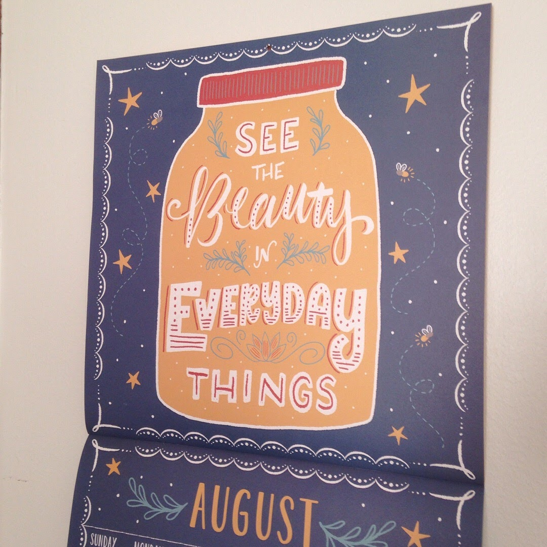august calendar 1canoe2 wall