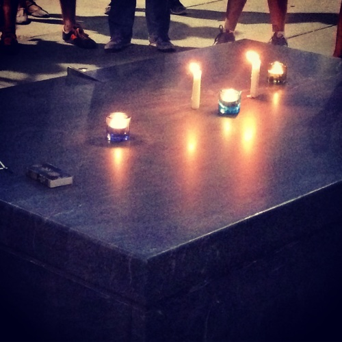 candles ashmont vigil