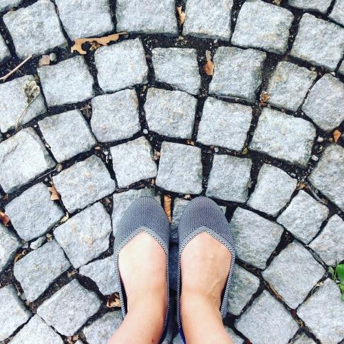 grey flats cobblestones