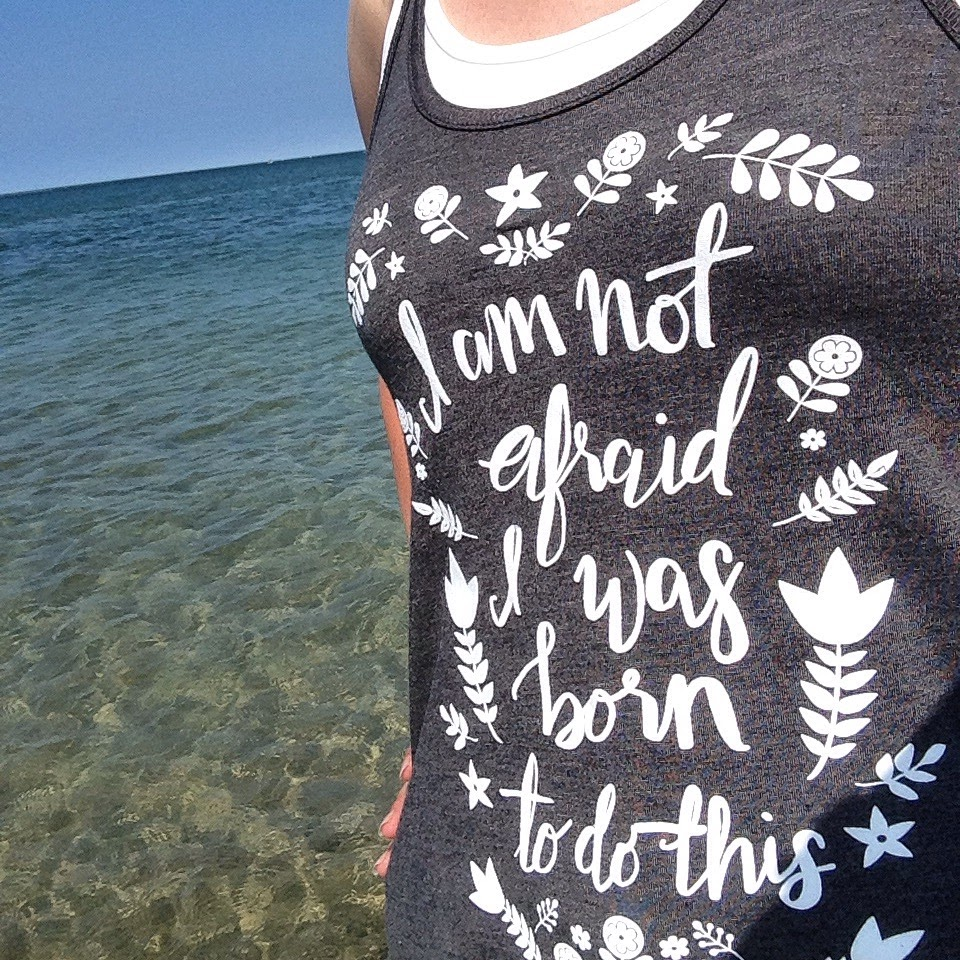 not afraid shirt ocean brave