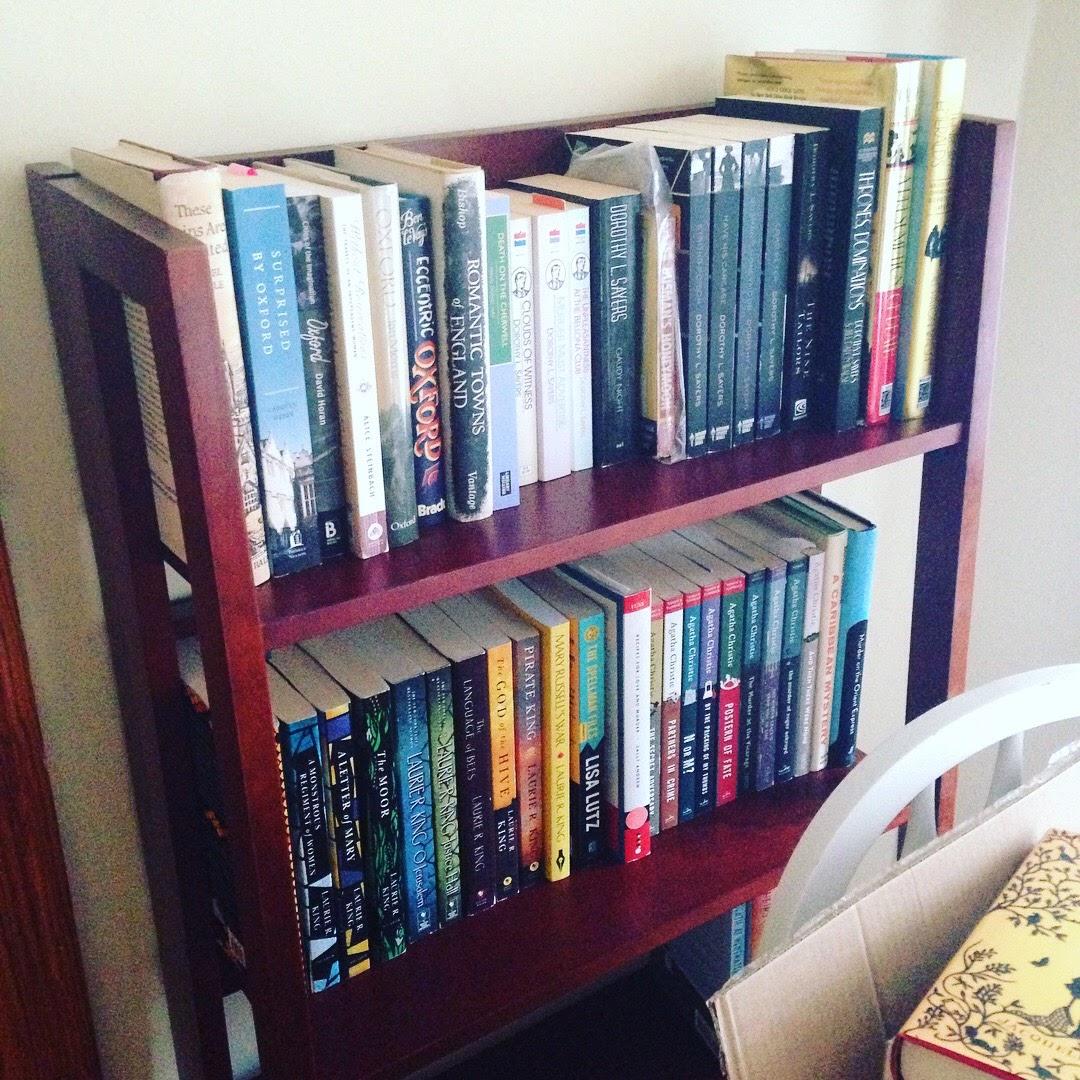 oxford mystery bookshelf books