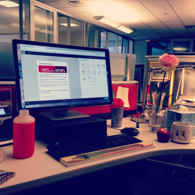 hks desk rose itn computer