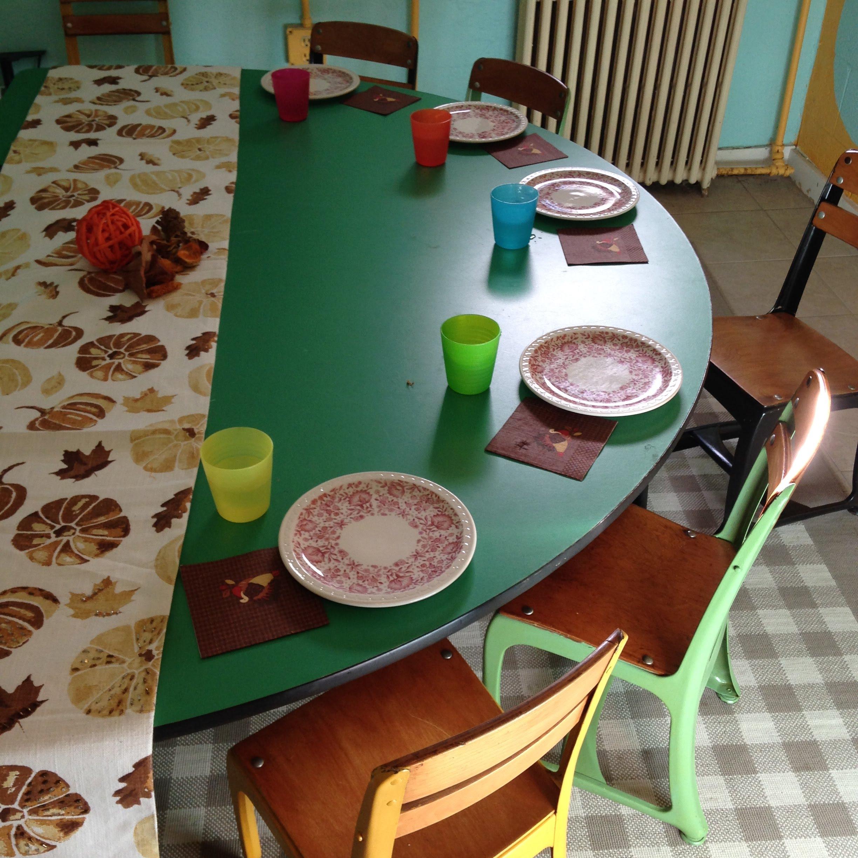 kids table turkeypalooza thanksgiving