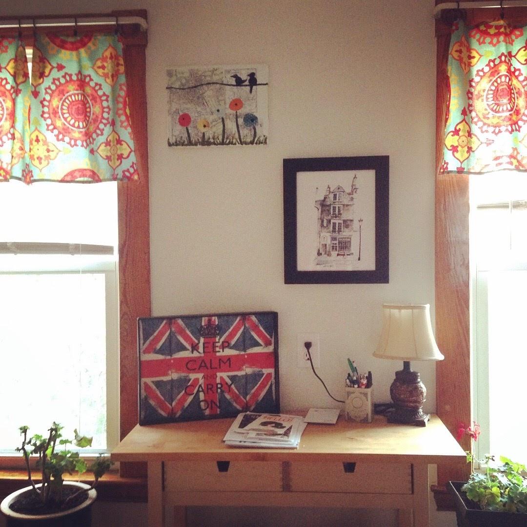 kitchen wall art curtains british flag