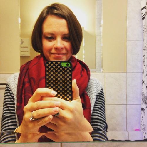 katie selfie mirror onedayhh