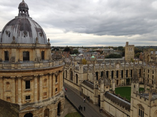 radcliffe camera oxford tower sky all souls