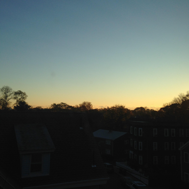 sunrise november onedayhh