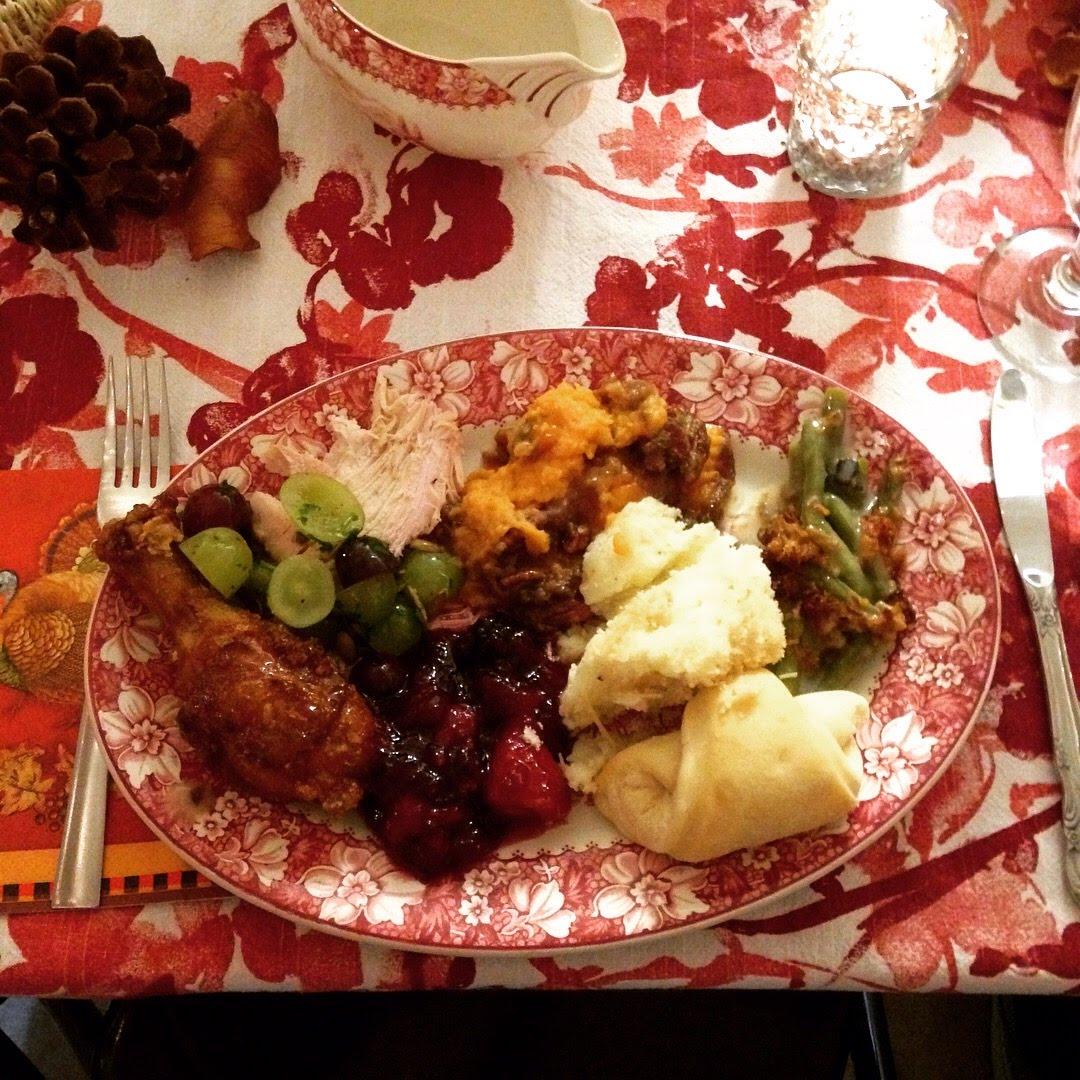 turkeypalooza plate food thanksgiving