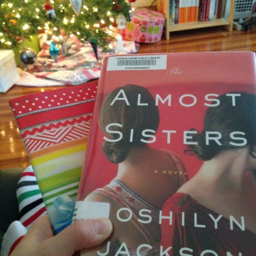 almost sisters book christmas tree