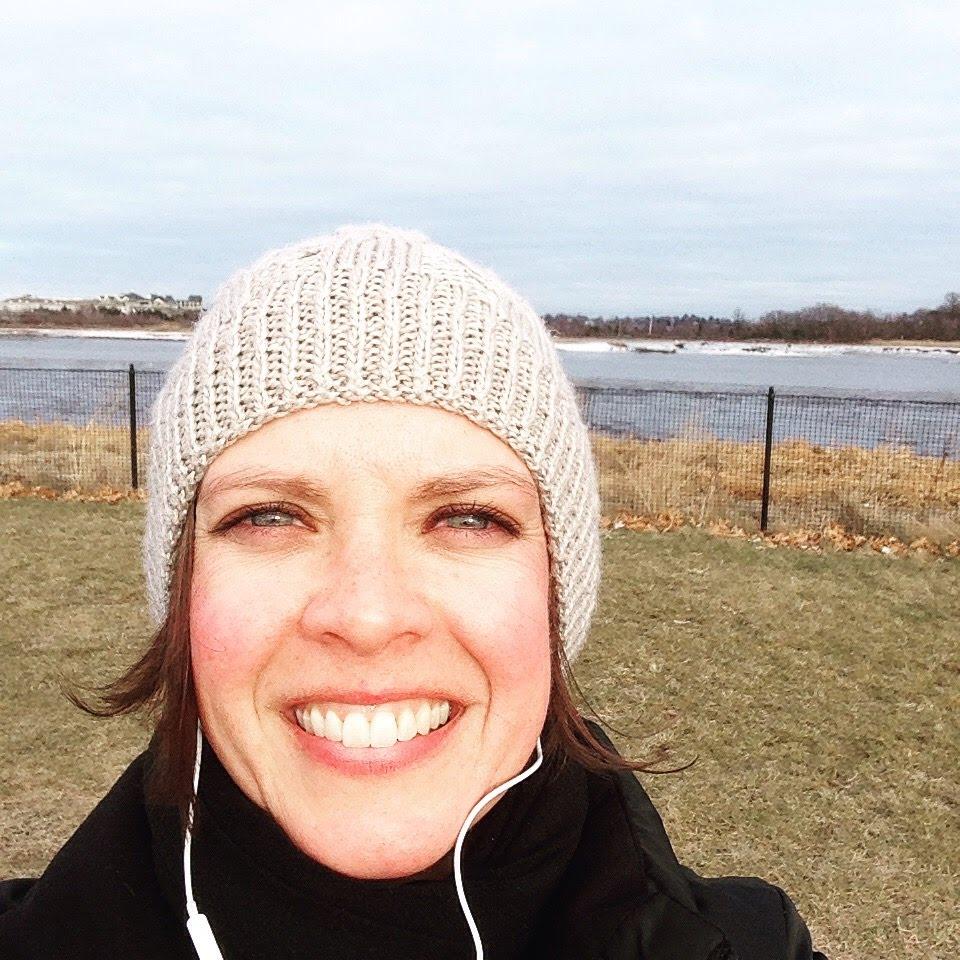 selfie gray hat river trail