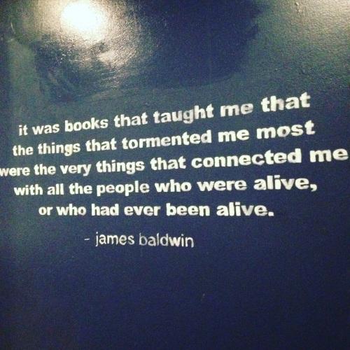 james baldwin quote books