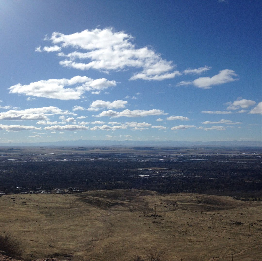 idaho view boise mountains treasure valley