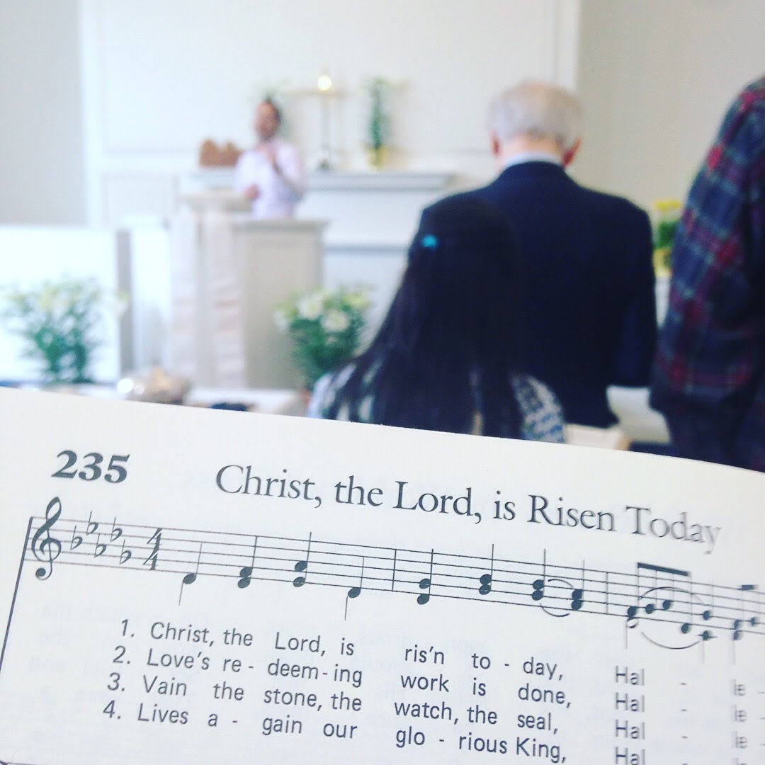 christ the lord easter hymn sheet music