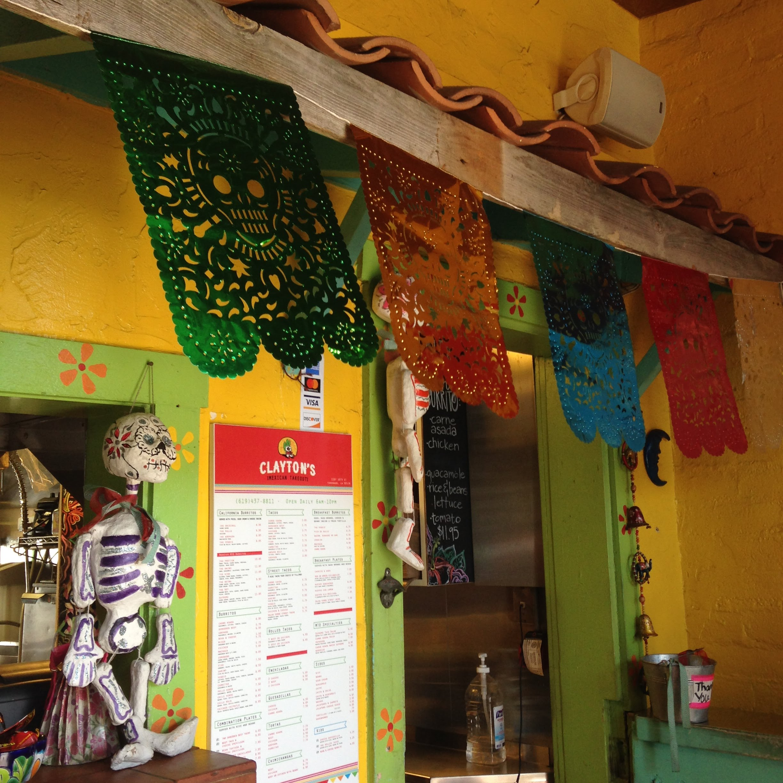 claytons mexican coronado sd interior