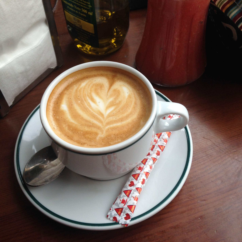 cafe con leche cafe hercules sevilla