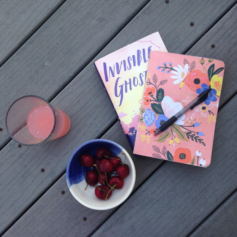 invisible ghosts book cherries lemonade