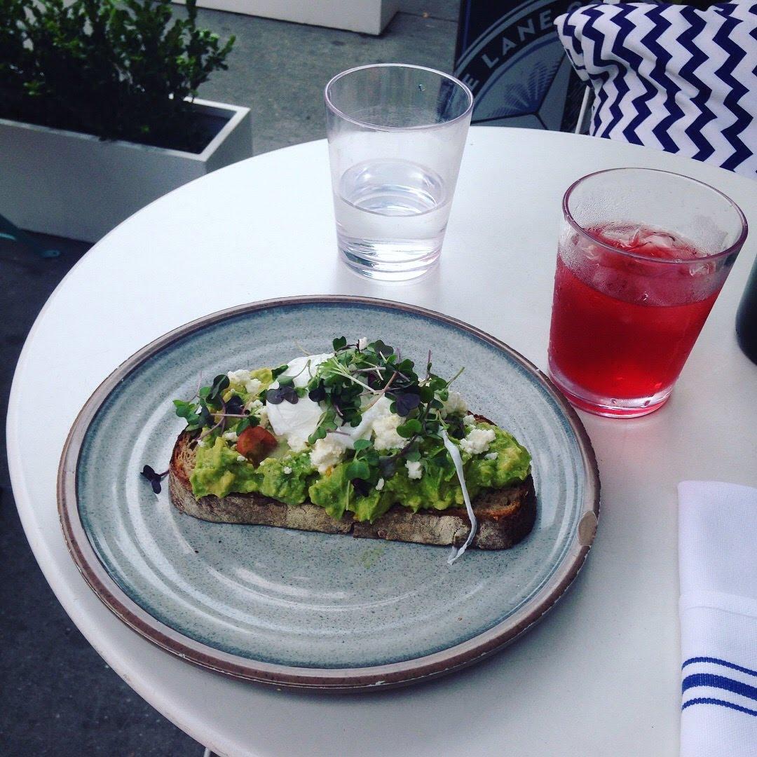 avocado toast iced tea nbc