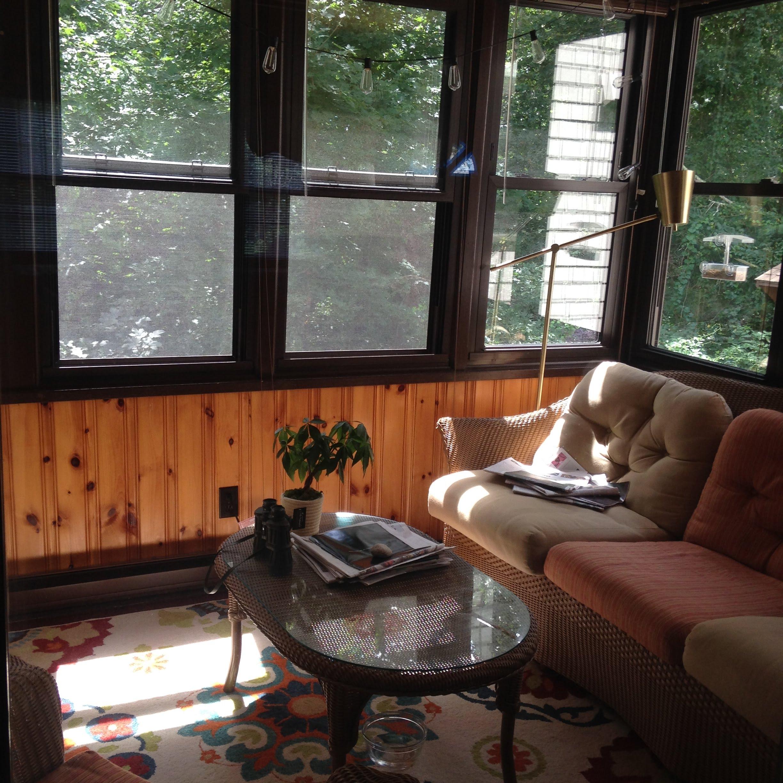 cape sun porch house