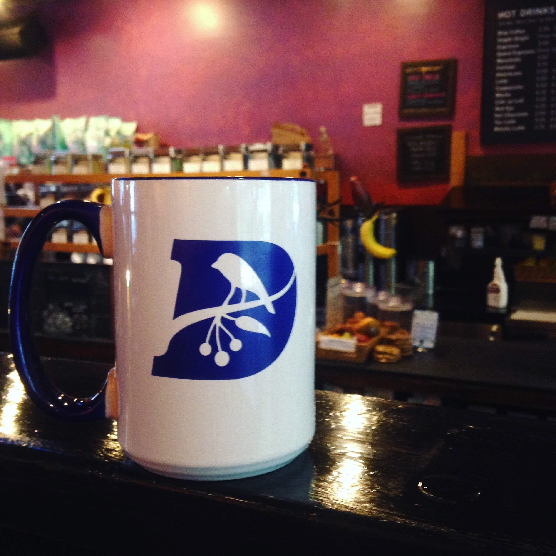 darwins mug ledge coffee shop