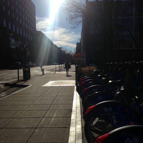 blue bikes central square Cambridge