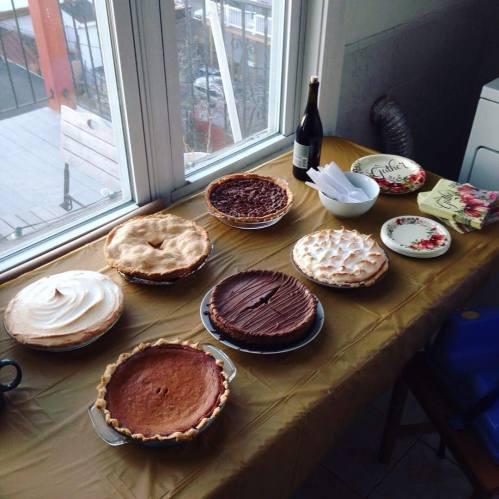 pie spread thanksgiving