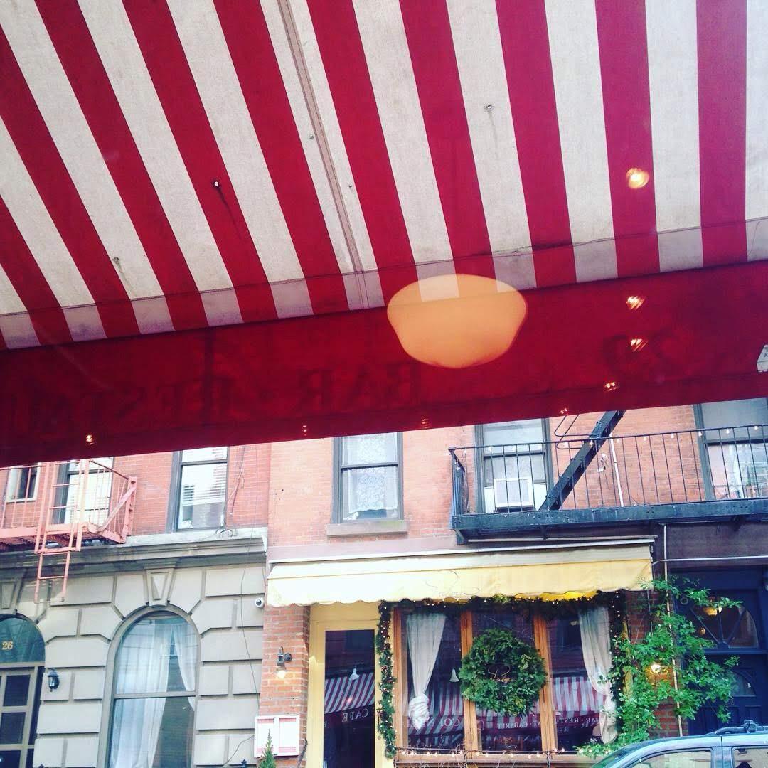 Cornelia street cafe awning NYC
