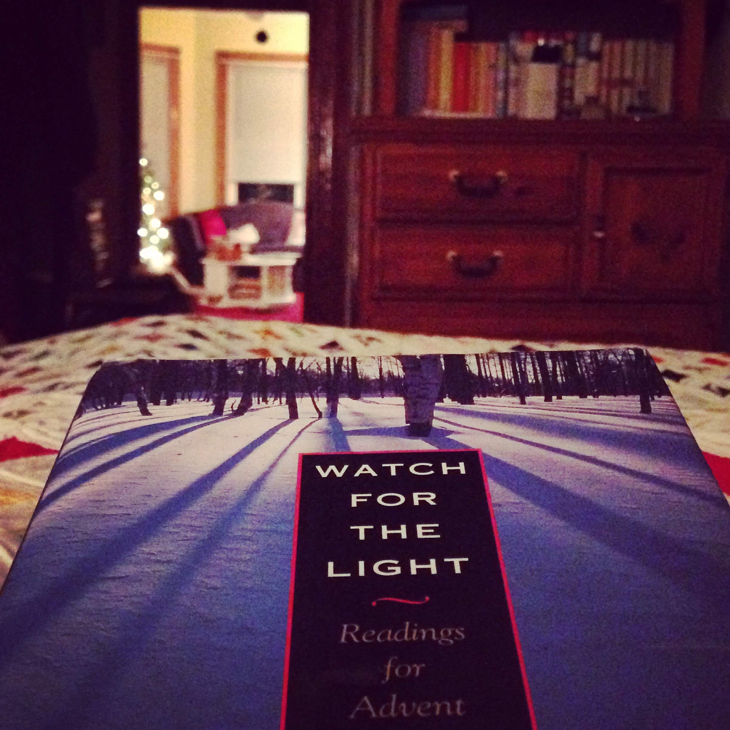 watch for the light book bed Christmas tree