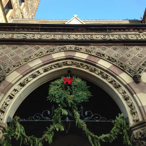 wreath old south church Boston