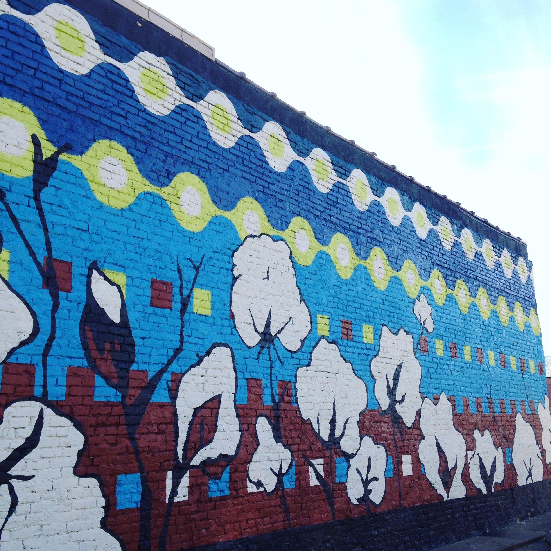 cotton mural texas